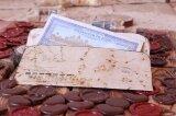Конверт для денег в винтажном стиле