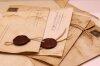 Конверт с сургучной печатью