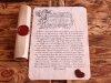 Любовное письмо в старинном стиле